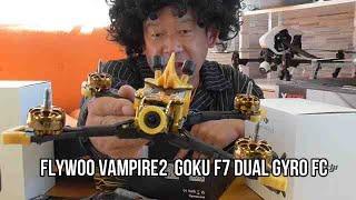 DJI FPV Flywoo Vampire2 HD 210mm F7 Bluetooth 4S 5 Inch FPV Racing Drone BNF w/ DJI Air Unit