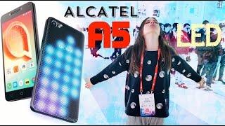 ALCATEL A5 LED: ГОРЯЩАЯ НОВИНКА – MWC 2017