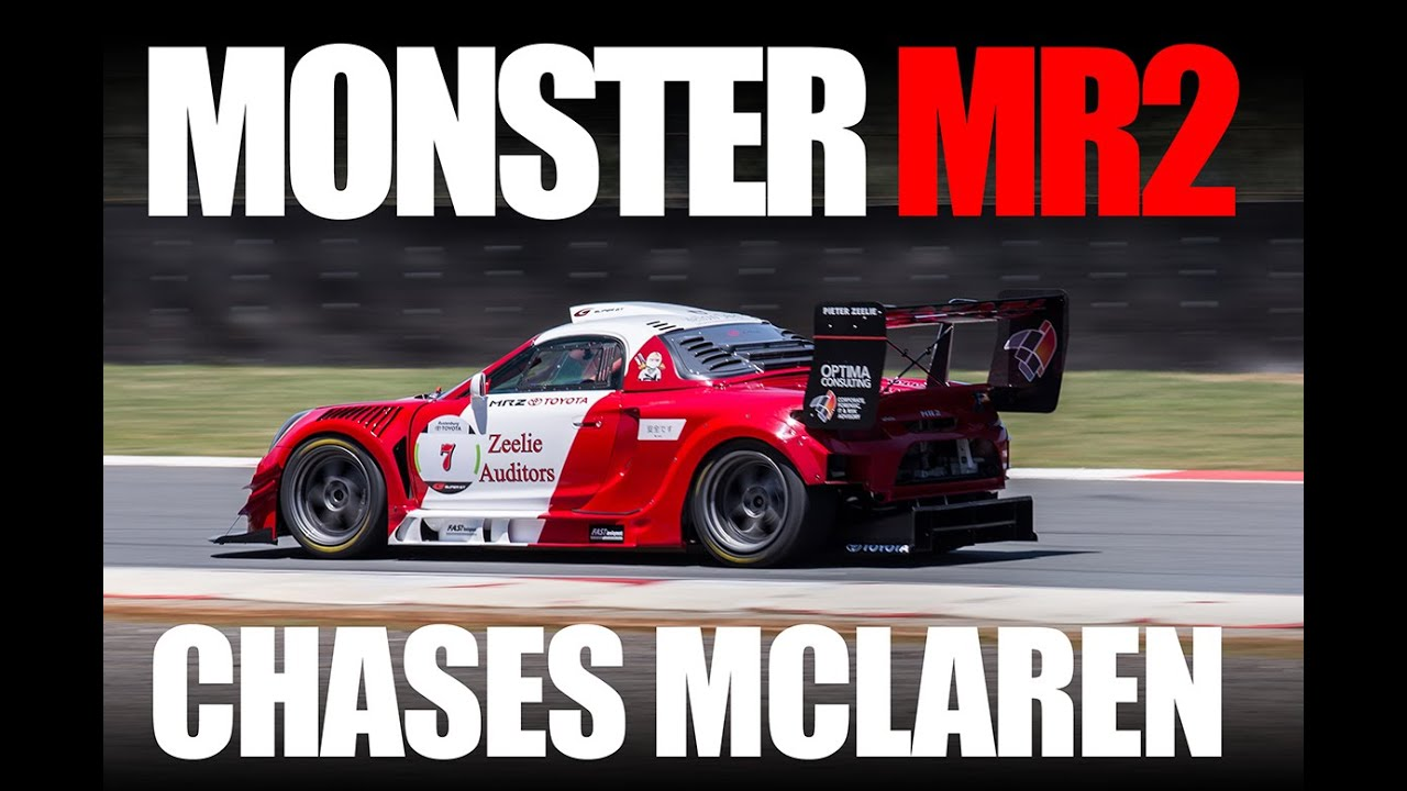 MR2 chases McLaren!