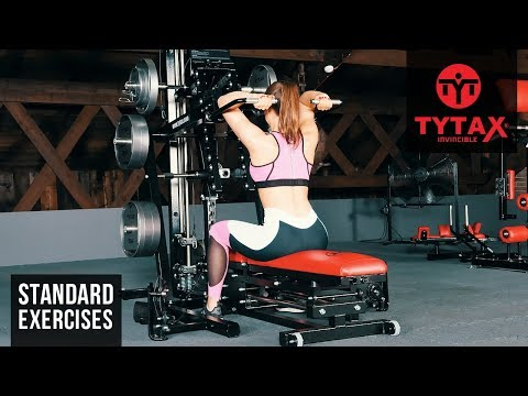 TYTAX® M2   Seated Lever Overhead Triceps Extension