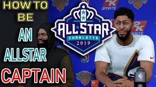 NBA 2K19 MY CAREER - HOW TO BECOME ALLSTAR CAPTAIN