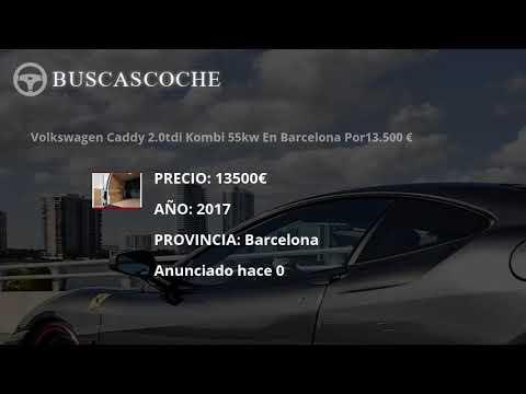 Volkswagen Caddy desde 950€, mejores ofertas