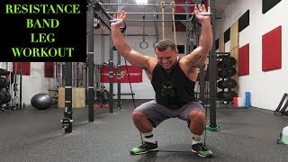 Intense 5 Minute Resistance Band Leg Workout by Anabolic Aliens