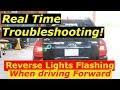 Reverse Lights Flashing when Driving Forward - Kia Sportage