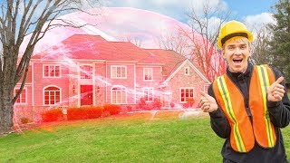 Game Master FORCE FIELD Spy Gadget Installed at Sharer Family House!! (Hacker Proof)