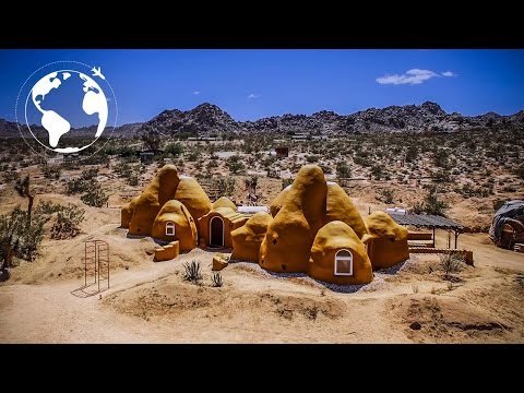 WOMAN Builds Breathtaking SUSTAINABLE DOME HOMES