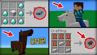 ✔ Minecraft: 15 Things You Didn't Know About the Horse