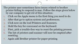 Connect Brother Wireless Printer to MAC