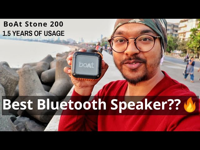 Before You Buy Bluetooth Speaker BoAt Stone 200 Review Sound Test | After Long Term 1.5 Years Of Use