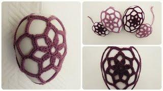 Osterei umhäkeln #2 * DIY * Crochet Ester Egg [eng sub]