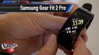 Samsung Gear Fit 2 Pro: Smartes Fitnessband im First Look