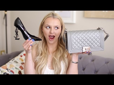 Designer Fashion Haul- MAY 2017 – Chanel, Gucci, Givenchy, YSL, Balenciaga and more
