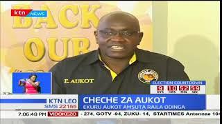 Mgombea urais Dkt Ekuru Aukot amsuta kinara wa NASA Raila Odinga