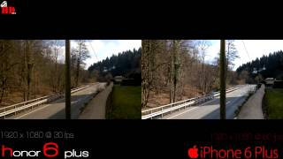 Huwaii Honor 6 Plus Vs İphone6 Plus Video & Picture Comparison 4k Uhd Superhdview