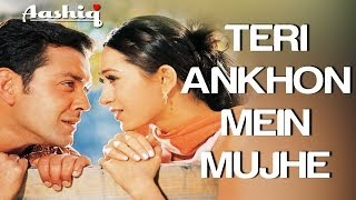 Teri Aankhon Mein - Video Song | Aashiq | Bobby   - YouTube