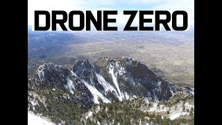 Albuquerque Sandia Mountain Range Drone flight.