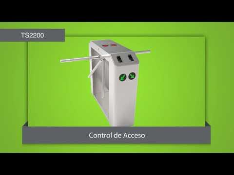 TORNIQUETE CONTROL DE ACCESO ZK TS2200 DELIMA ING