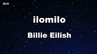 Ilomilo   Billie Eilish Karaoke 【No Guide Melody】 Instrumental