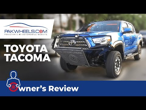 Toyota Tacoma 2016 Owner's Review: Price, Specs & Features