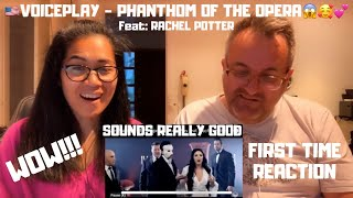 🇩🇰NielsensTv FIRST TIME REACTION TO VoicePlay - The Phantom of the Opera (feat. Rachel Potter)