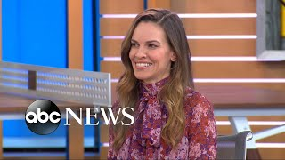 Hilary Swank on spontaneous cross-country travel and being back on the big screen