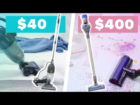 Mesmerizing $40 Vs $400 Vacuum Cleaner