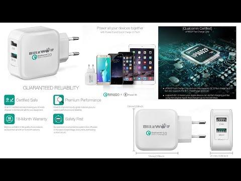 Unbox BlitzWolf charger