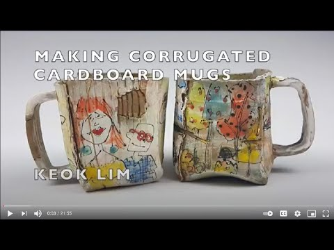 Making Cardboard Mugs Tutorial