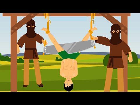 Přehled nejhorších trestů
