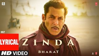 'Zinda' Song | Bharat | Salman Khan | Julius   - YouTube