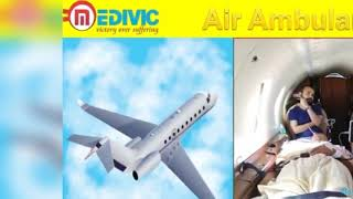Fast Air Ambulance Service in Allahabad and Bhopal by Medivic Aviation with