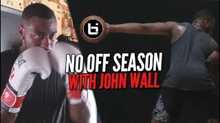 John Wall Throws Hands in the Yams! | NO OFFSEASON | episode 1