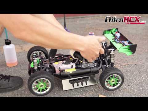 Breaking in your new Nitro Engine