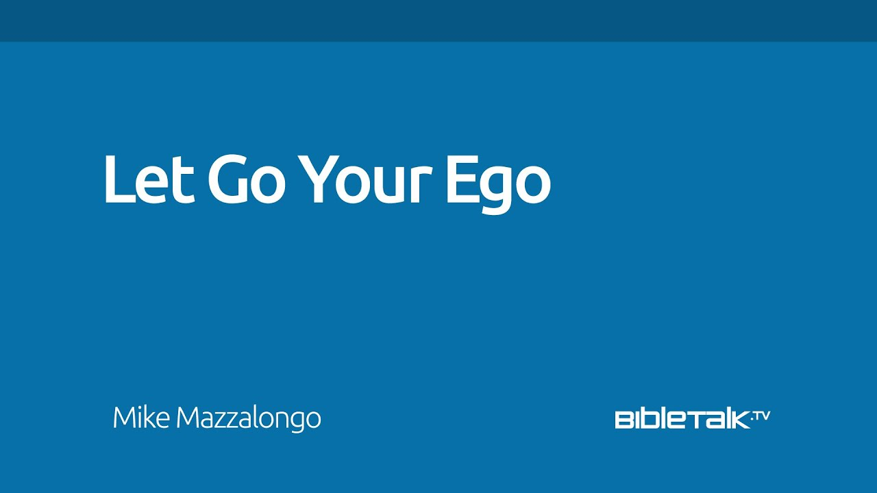 how to let go of pride and ego