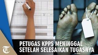 Petugas KPPS di Malang Meninggal setelah Mengantar Kotak Suara ke Kelurahan