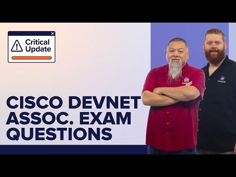 New Cisco DevNet Associate Exam Question Types and Samples ...