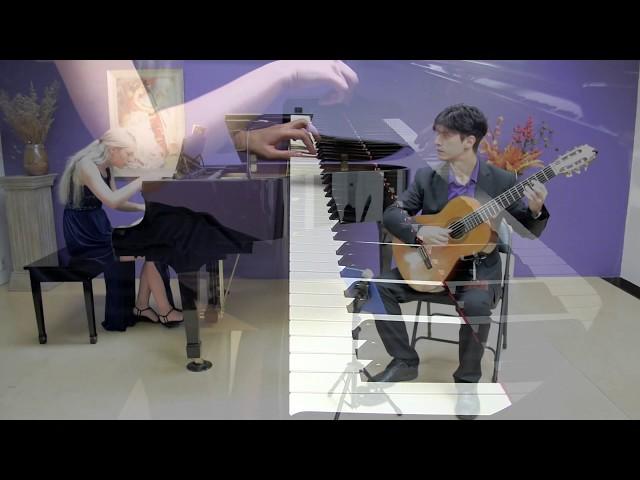 Duo Imaginalis plays Gran Duo Op.86 by Ferdinando Carulli (classical guitar and piano)