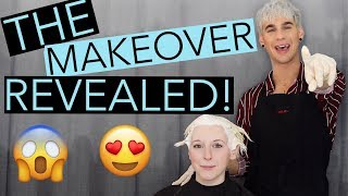 THE BIG REVEAL! I GAVE A FAN A MAKEOVER! |bradmondo