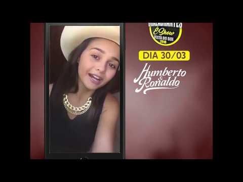 [Fabiana Gomes] Chamada para Show em Brazabrantes (Goiás)