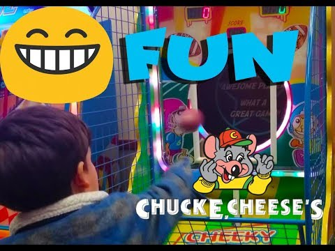 Chuck E Cheese for younger kids babies