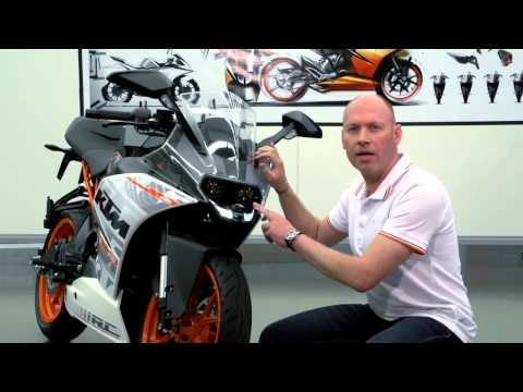 KTM RC 390 first look review - Features and Benefits