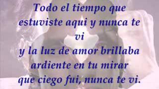 MUY DENTRO DE MI (YOU SANG TO ME) LETRA Marc Anthony