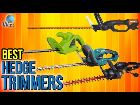 10 Best Hedge Trimmers 2017