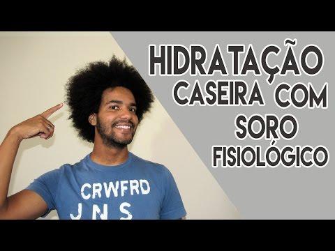 HIDRATAÇÃO CASEIRA COM SORO FISIOLOGICO