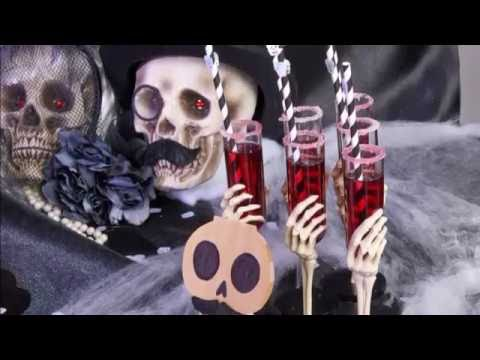 Halloween mocktail Bora Bora: proost met skeletten!