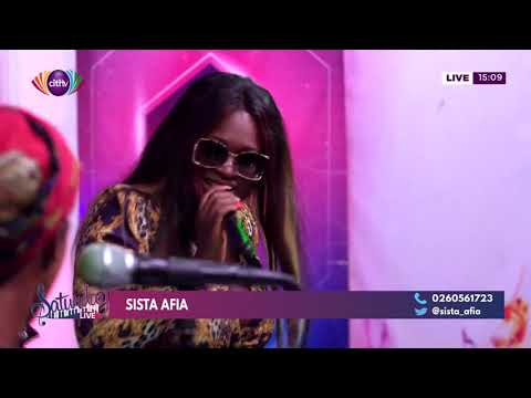 Sista Afia performs on Saturday Live