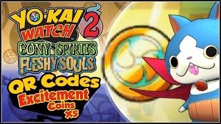 Five Star Coin Qr Codes Yo Kai Watch 2 Free Video Search Site