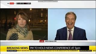 Nigel Farage easily outwits  Kay Burley | Sky News