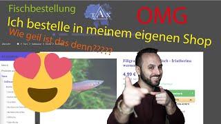 KEINE KUGELFISCHE / Ich bestelle  Fische in meinem Onlineshop / TAX