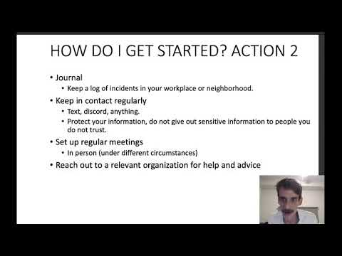 Organizer Training - Getting Started